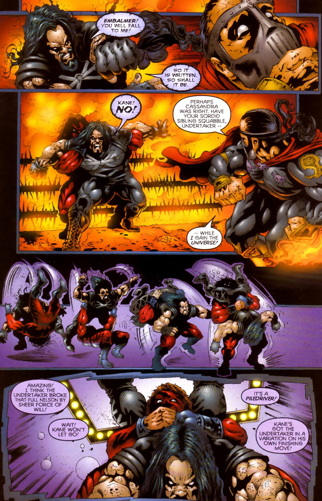 Read online Undertaker (1999) comic -  Issue #0.5 - 12