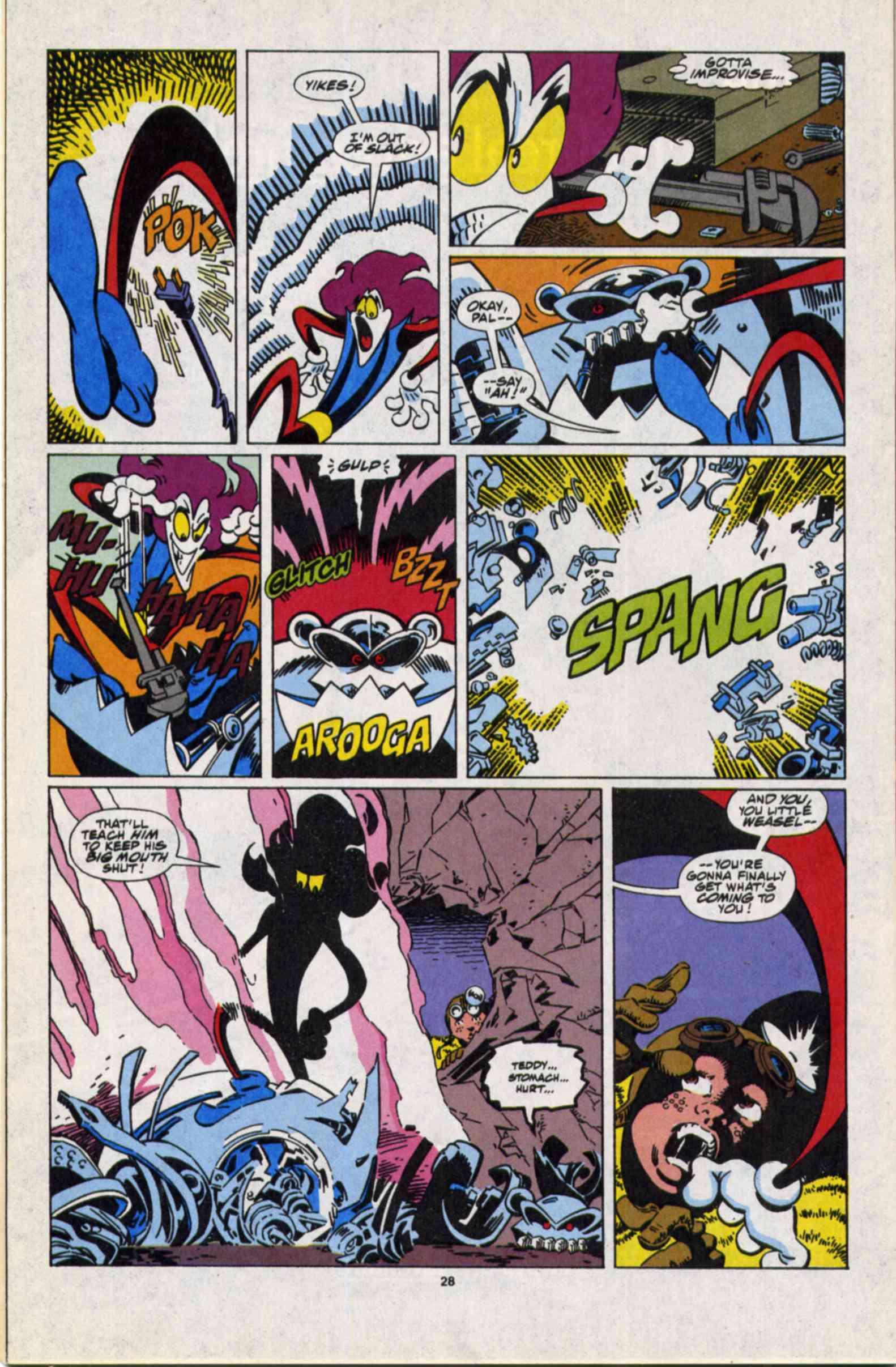 Read online Slapstick comic -  Issue #3 - 21