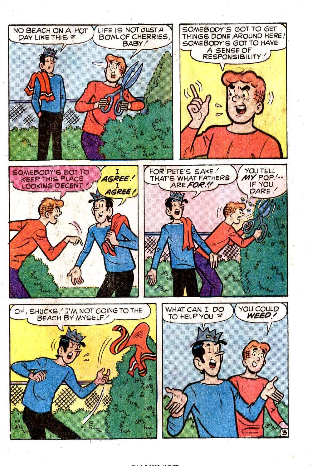 Read online Archie (1960) comic -  Issue #258 - 5