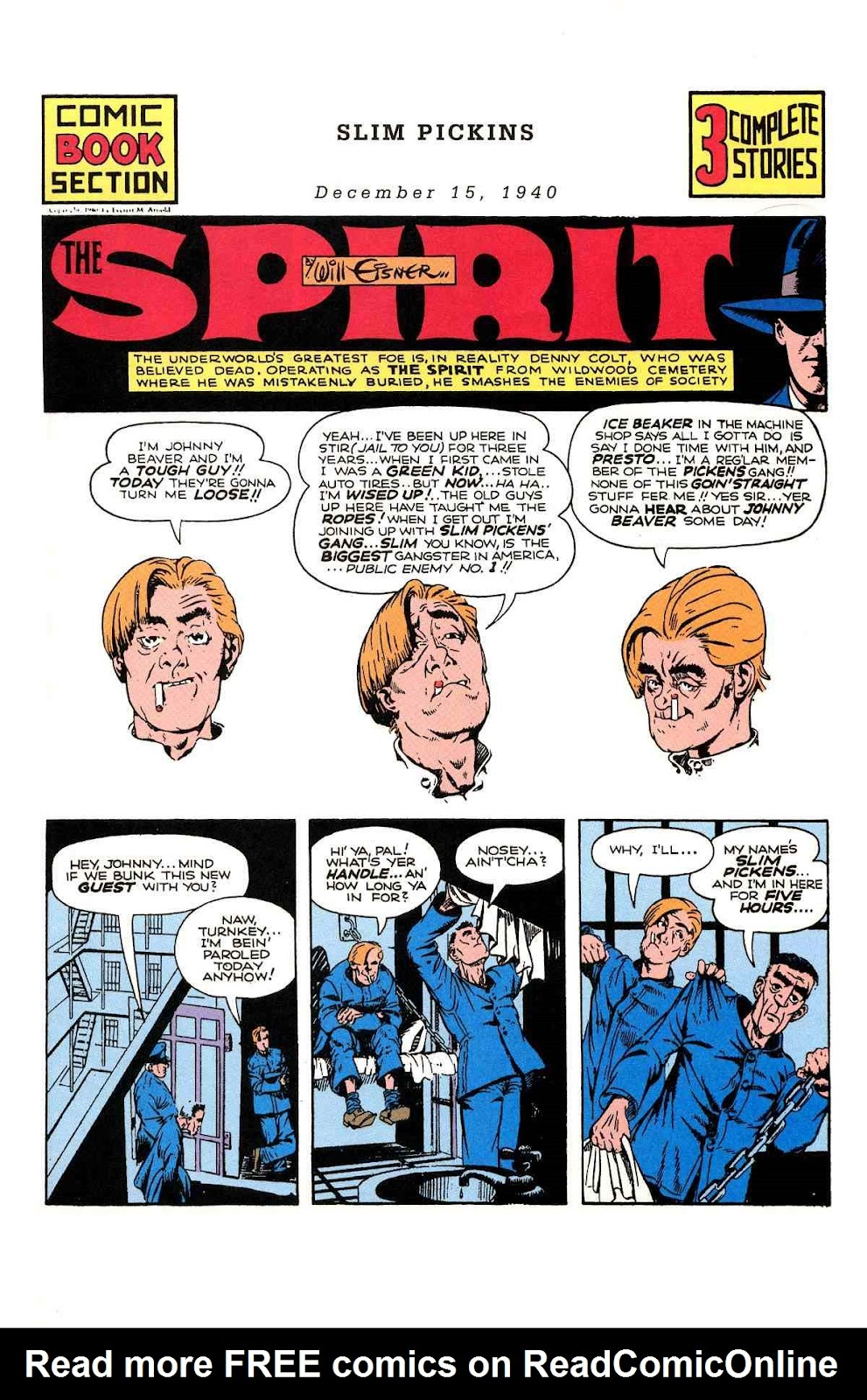 Read online Will Eisner's The Spirit Archives comic -  Issue # TPB 1 (Part 2) - 98