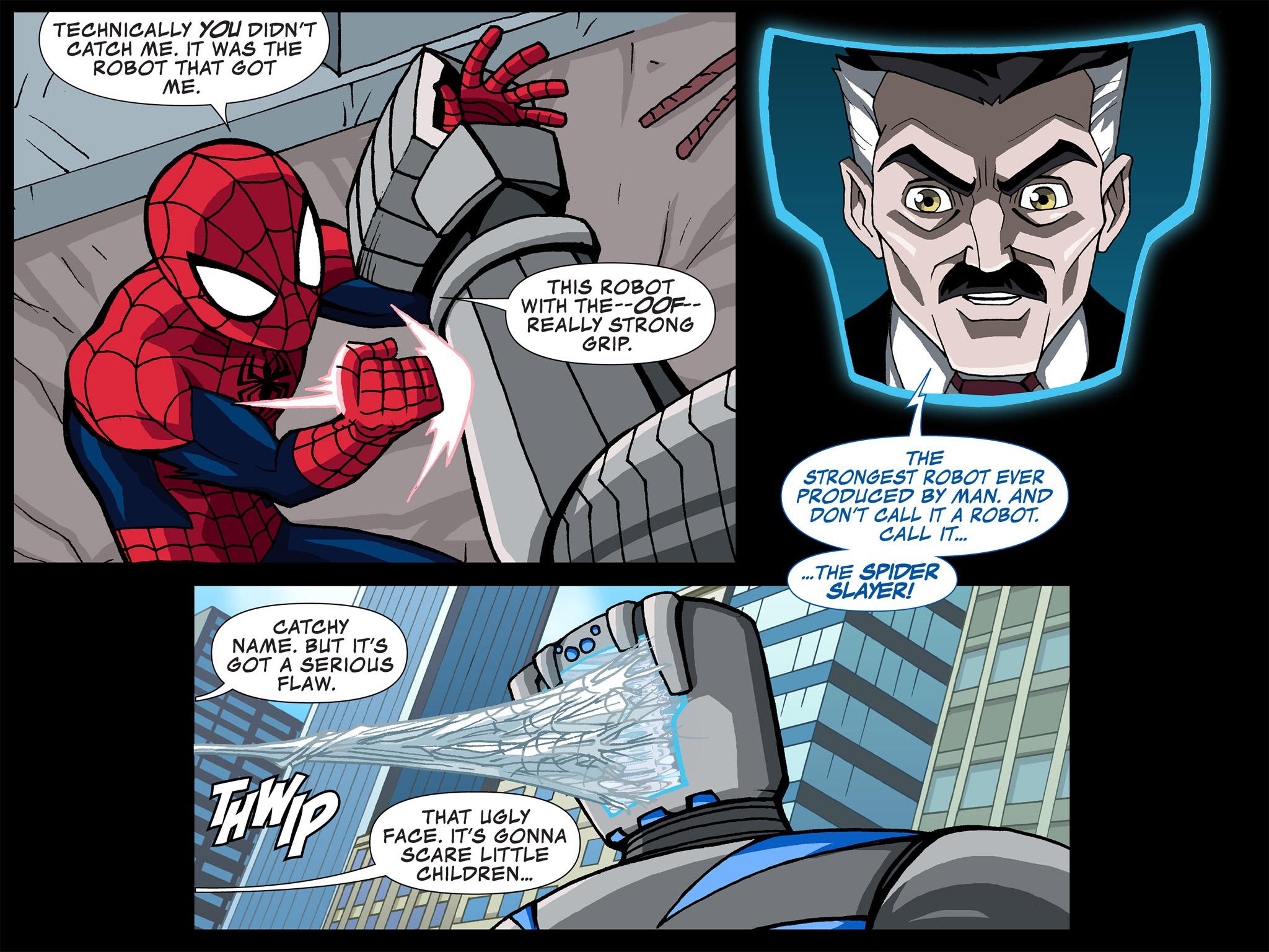 Read online Ultimate Spider-Man (Infinite Comics) (2015) comic -  Issue #4 - 4