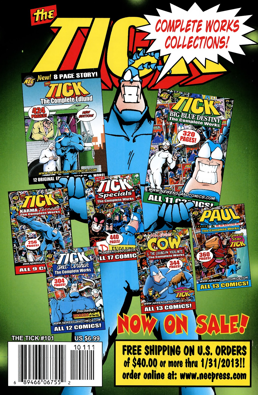 Read online The Tick comic -  Issue #101 - 46