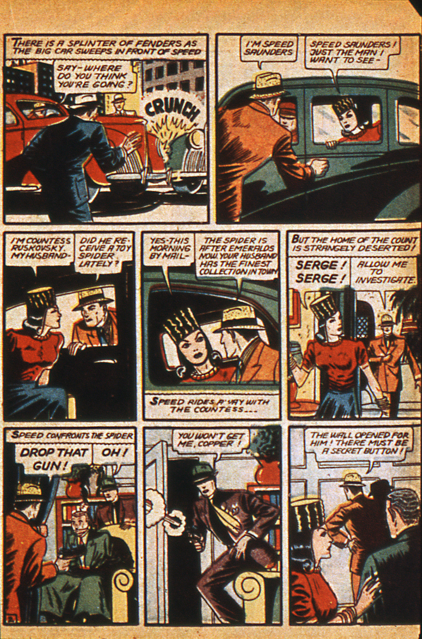 Read online Detective Comics (1937) comic -  Issue #36 - 37