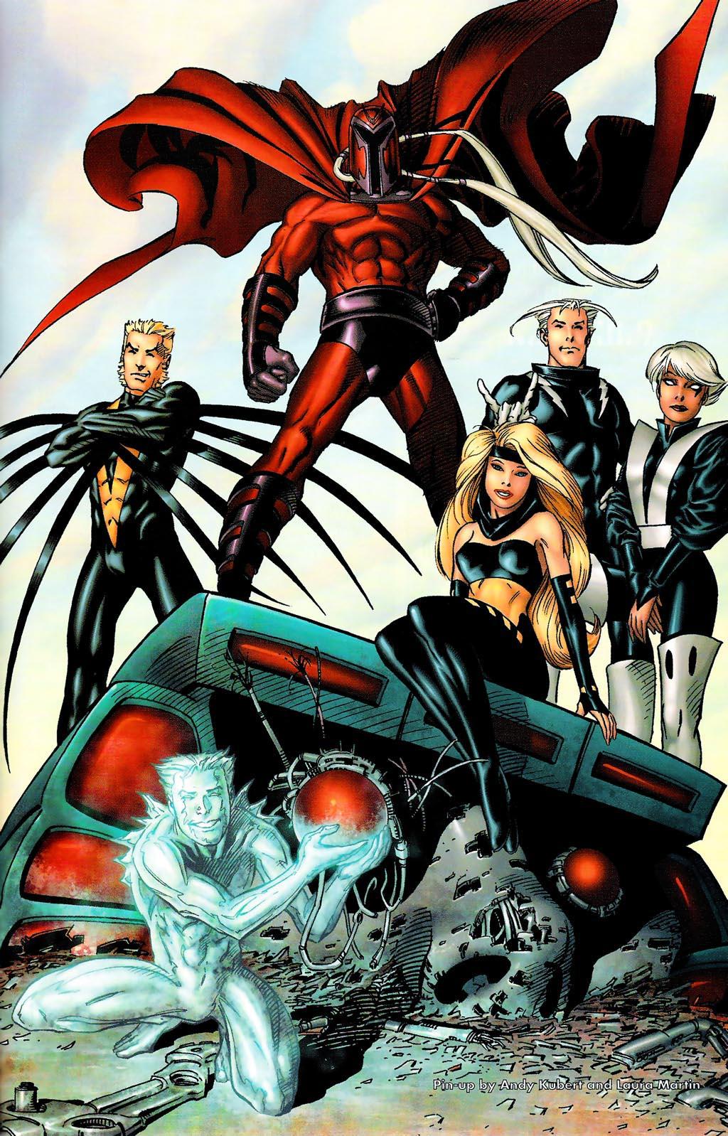 Read online Age of Apocalypse (2005) comic -  Issue #0 - 37