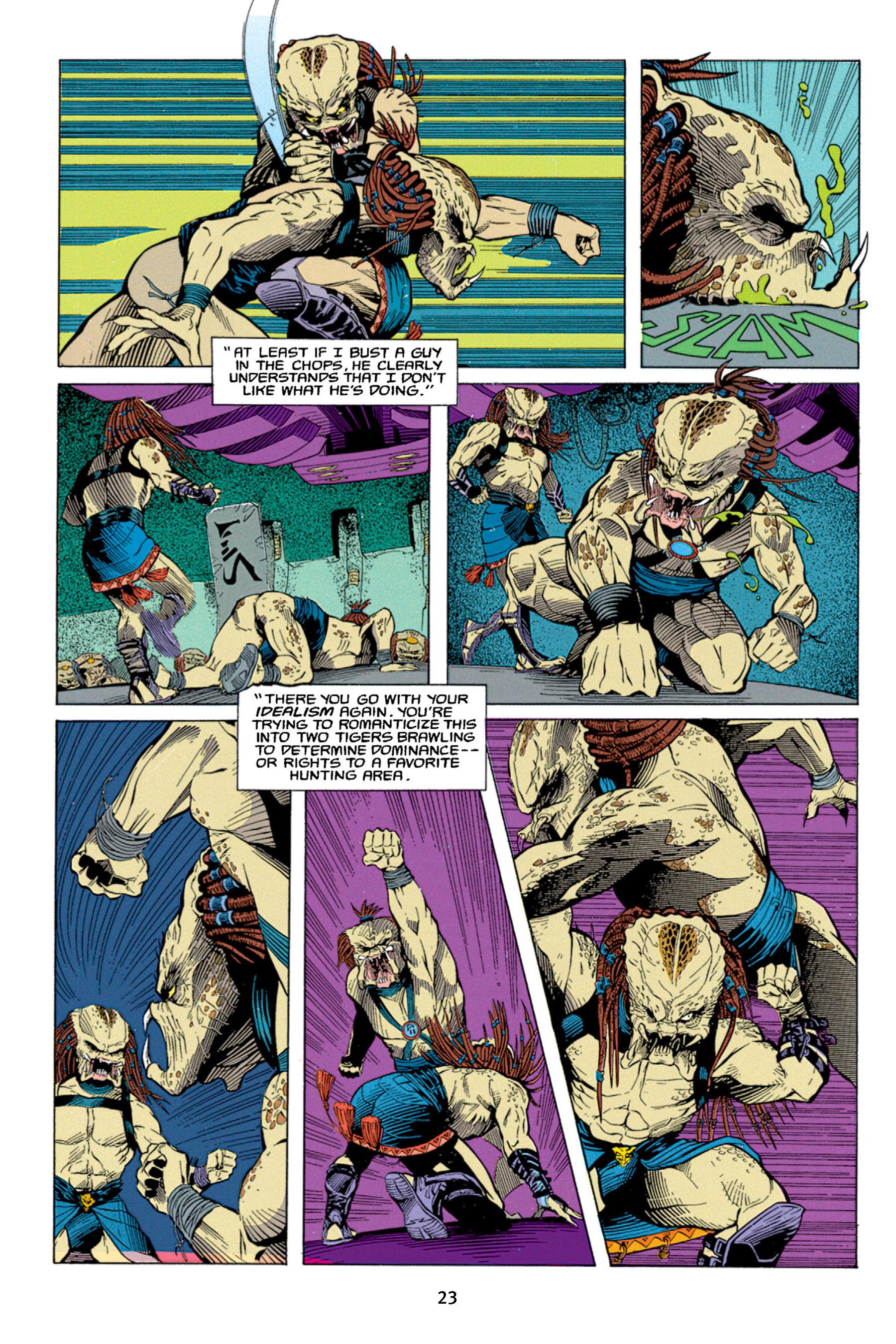 Read online Aliens vs. Predator Omnibus comic -  Issue # _TPB 1 Part 1 - 23