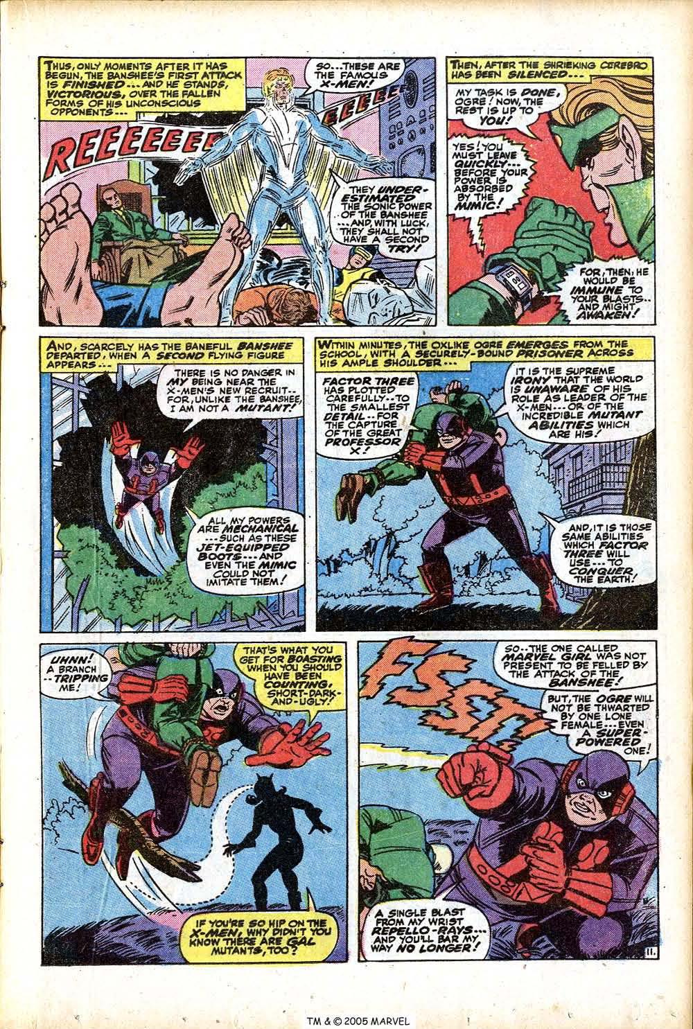 Uncanny X-Men (1963) 76 Page 16