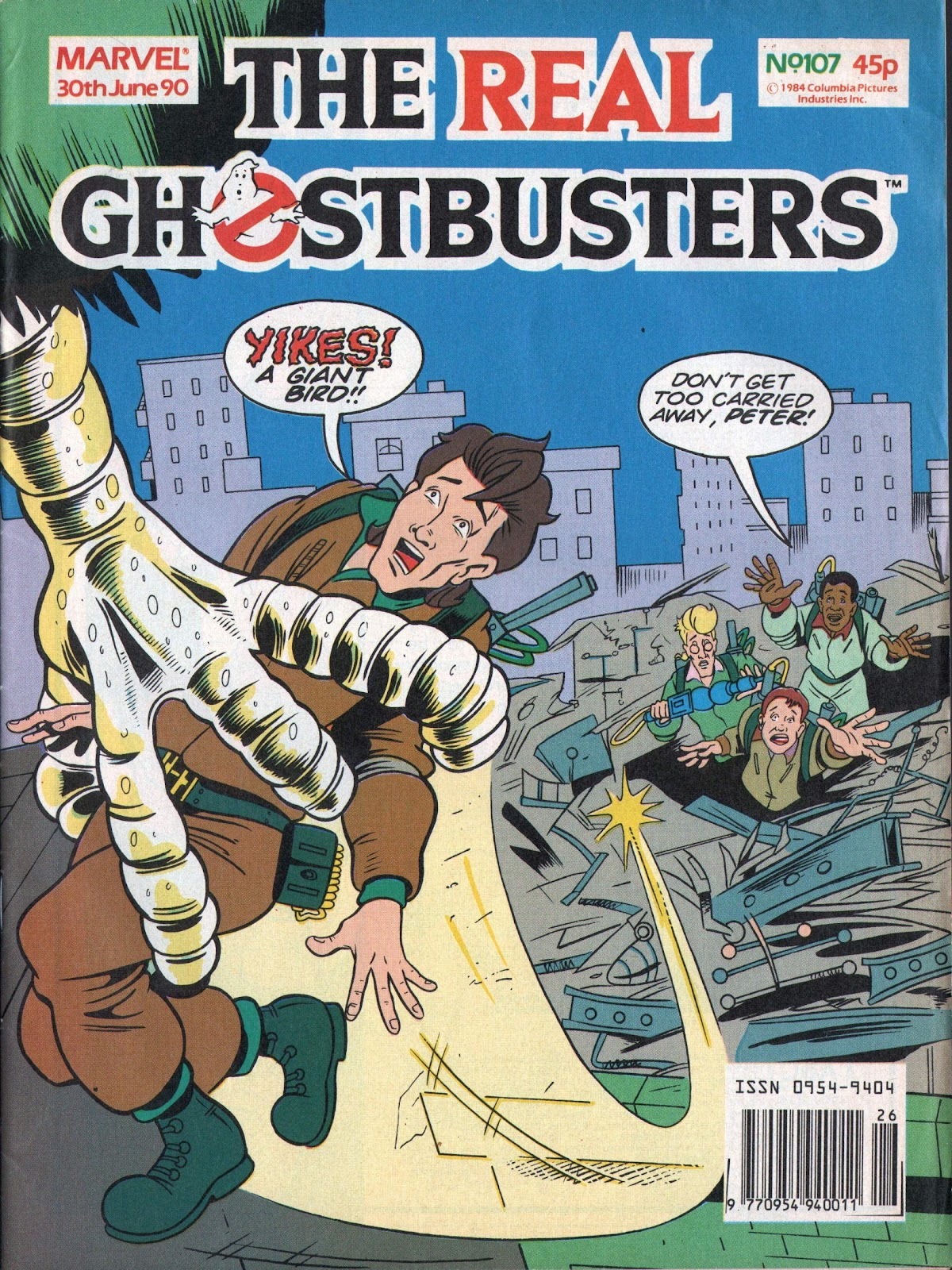 The Real Ghostbusters 107 Page 1