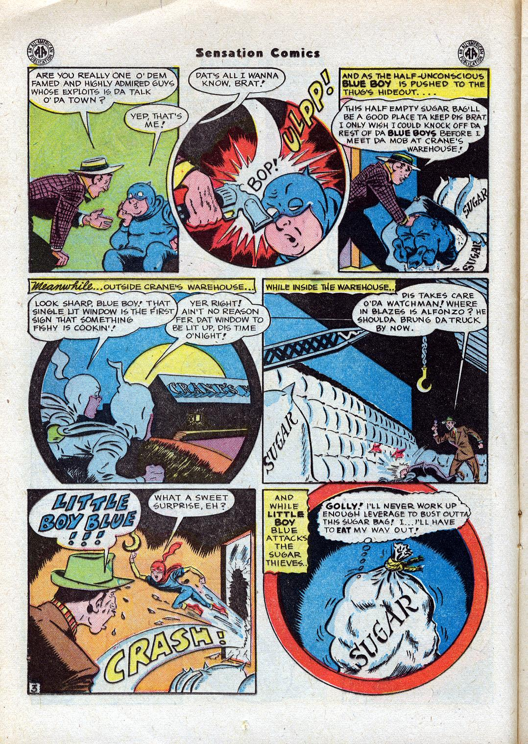 Read online Sensation (Mystery) Comics comic -  Issue #44 - 18