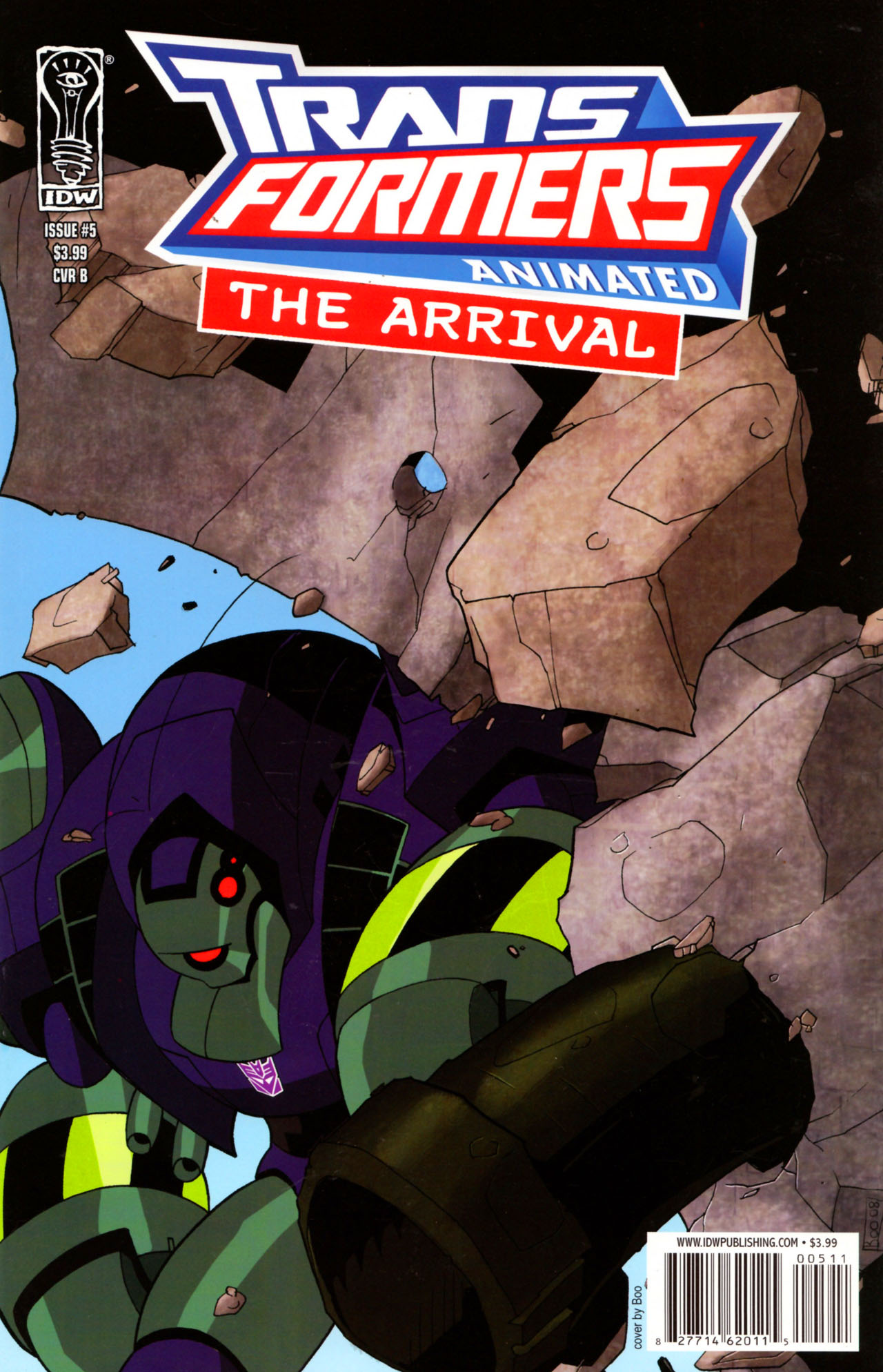 Read online Transformers Animated: The Arrival comic -  Issue #5 - 3