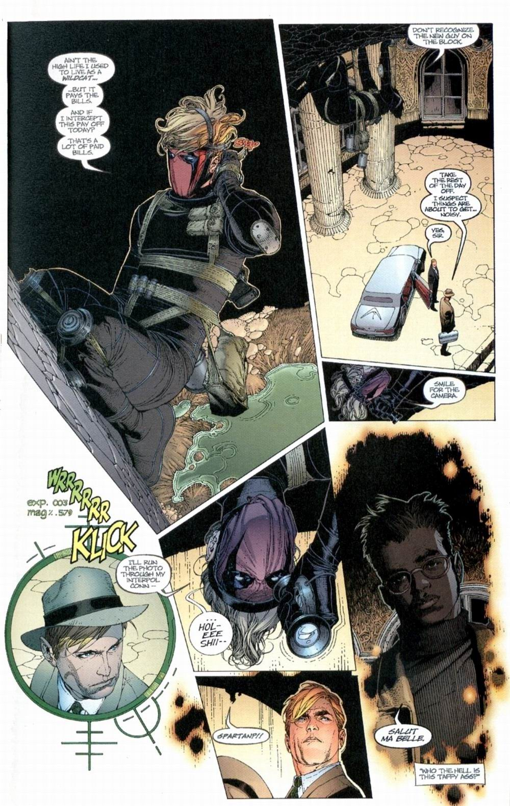 Wildcats (1999) Issue #1 #2 - English 6