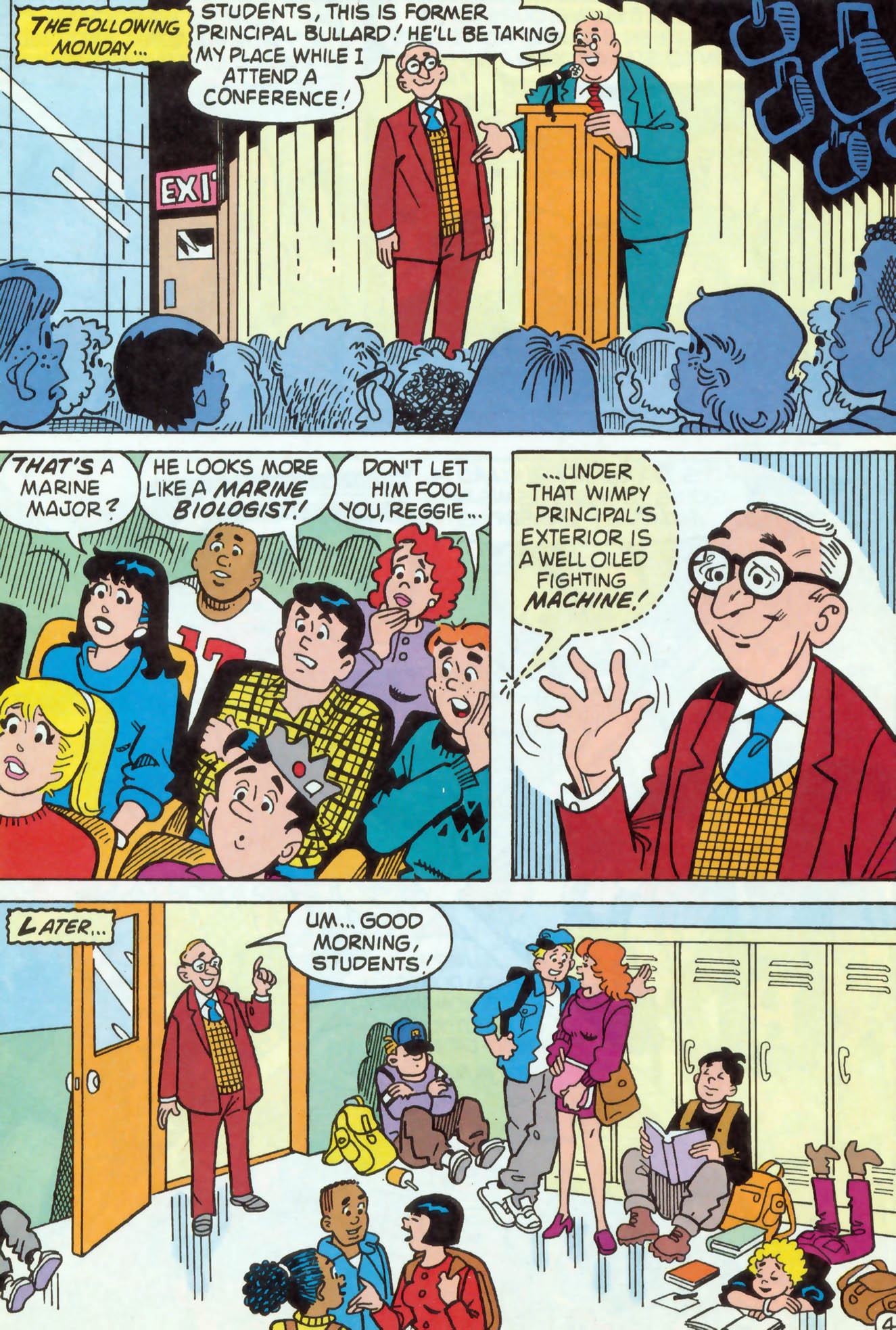 Read online Archie (1960) comic -  Issue #469 - 5