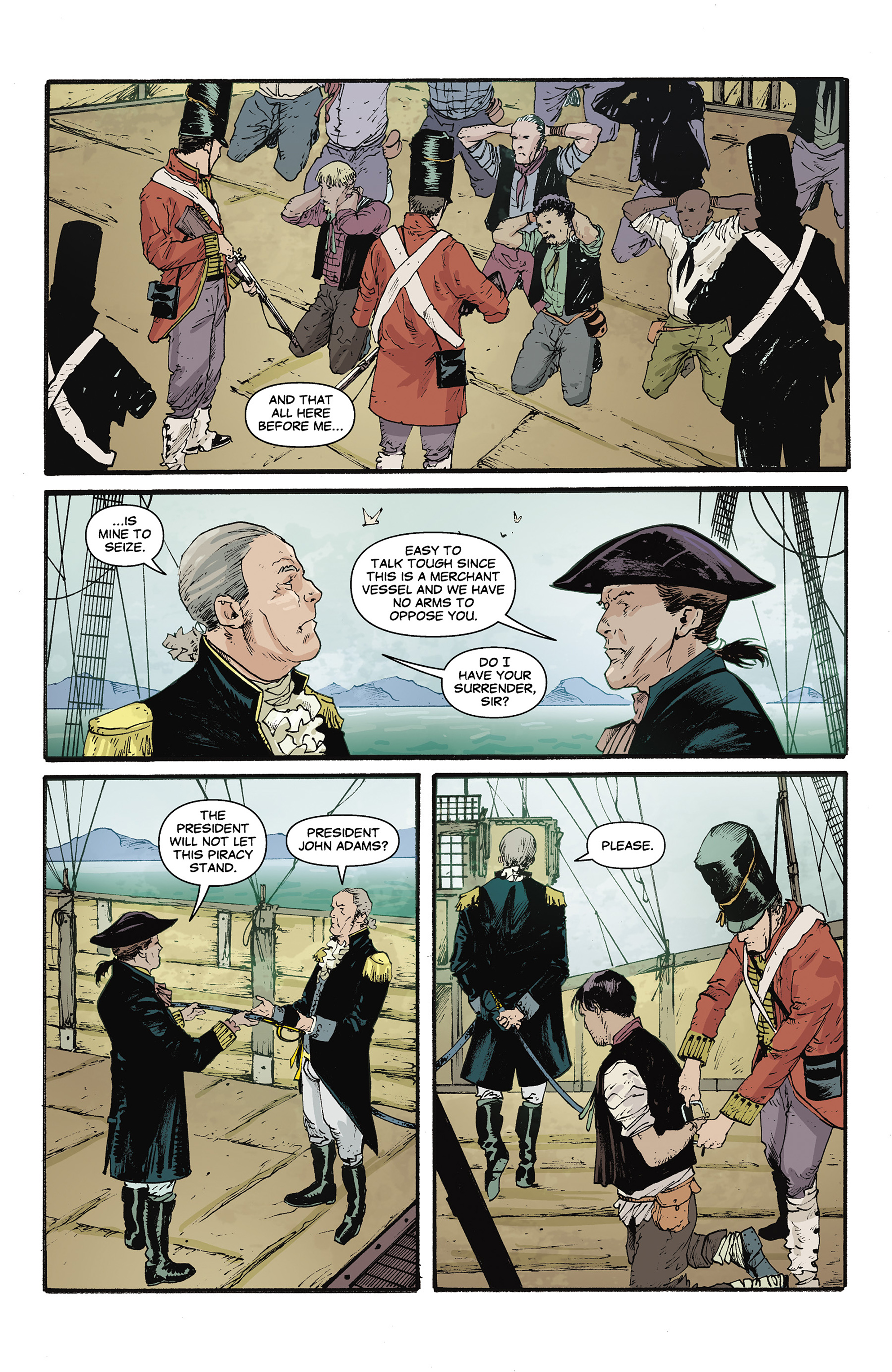 Read online Rebels: These Free and Independent States comic -  Issue #3 - 5