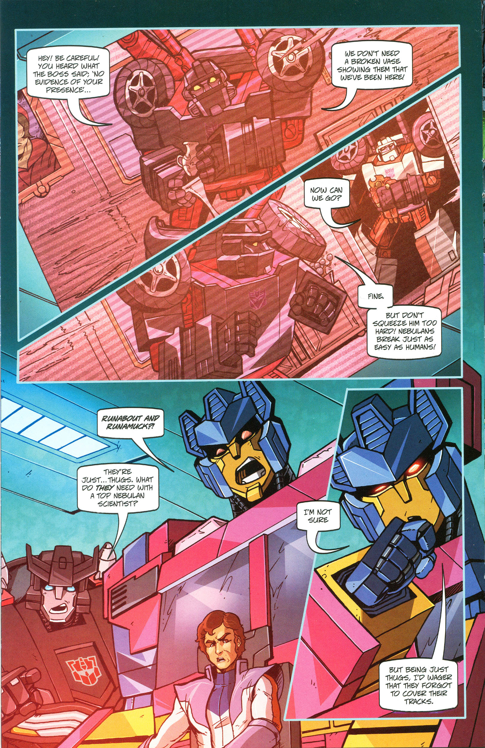 Read online Transformers: Collectors' Club comic -  Issue #45 - 10