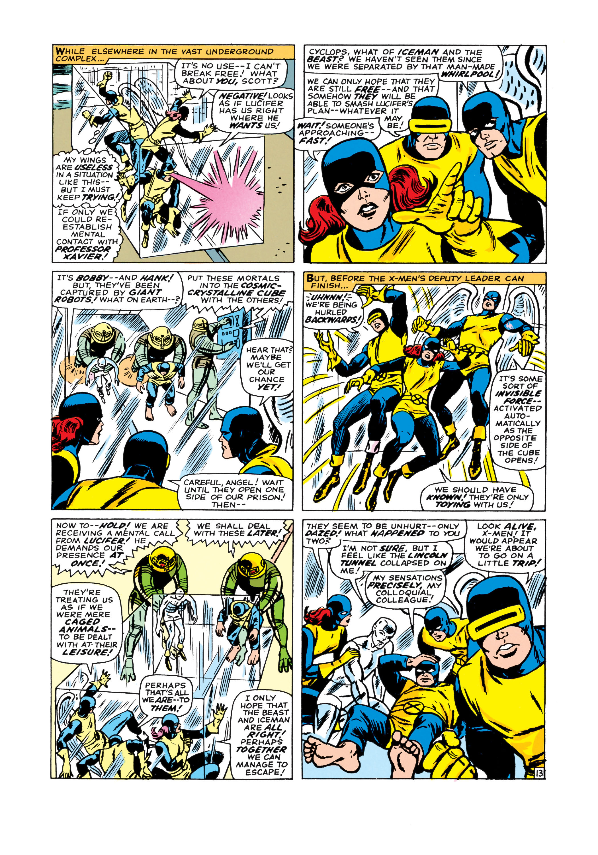 Read online Uncanny X-Men (1963) comic -  Issue #21 - 14