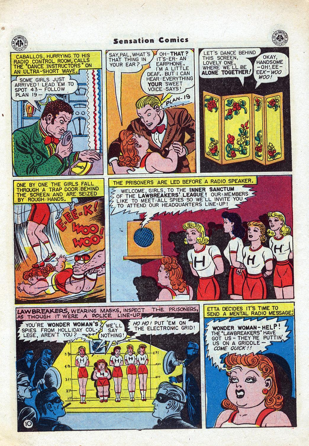 Read online Sensation (Mystery) Comics comic -  Issue #46 - 12