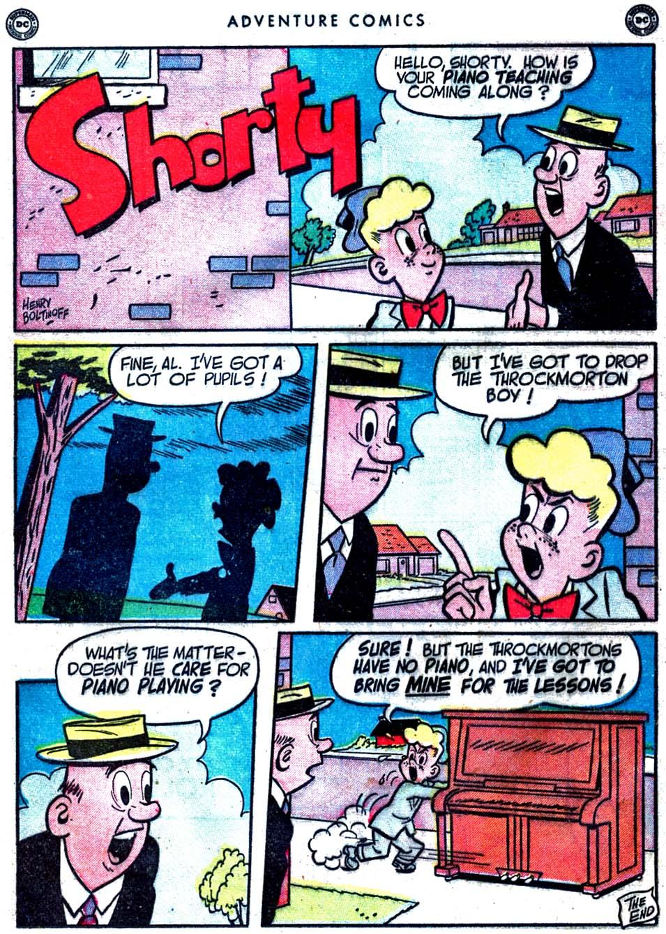 Read online Adventure Comics (1938) comic -  Issue #163 - 34