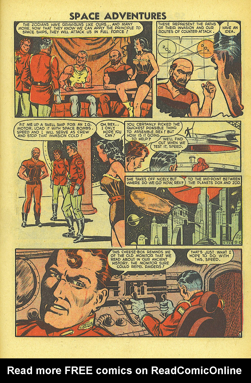 Space Adventures (1952) issue 4 - Page 6