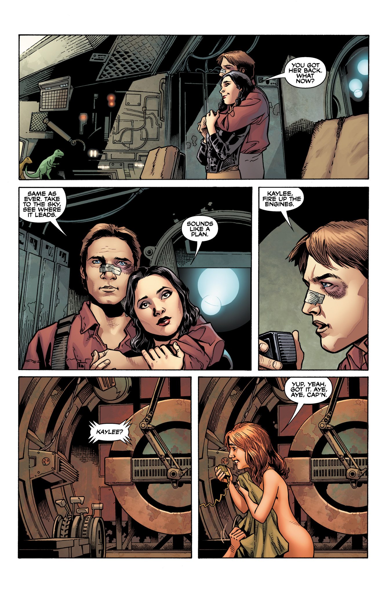 Read online Serenity: Firefly Class 03-K64  Leaves on the Wind comic -  Issue #6 - 26