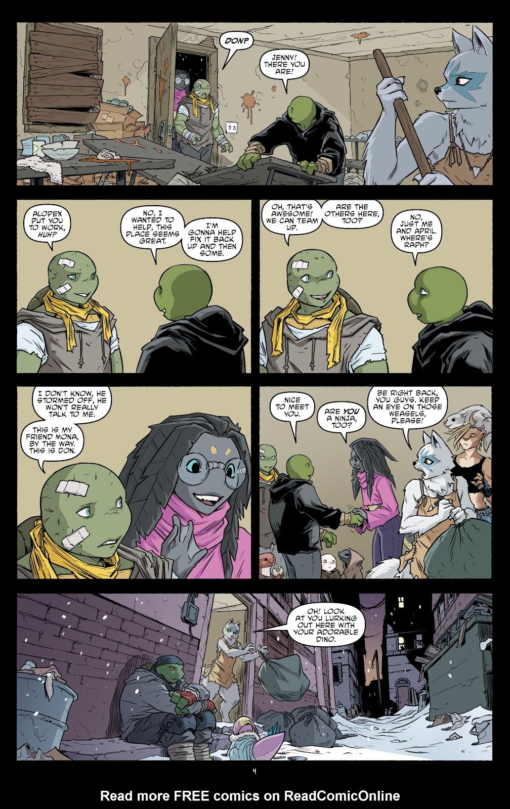 Read online Teenage Mutant Ninja Turtles (2011) comic -  Issue #104 - 6