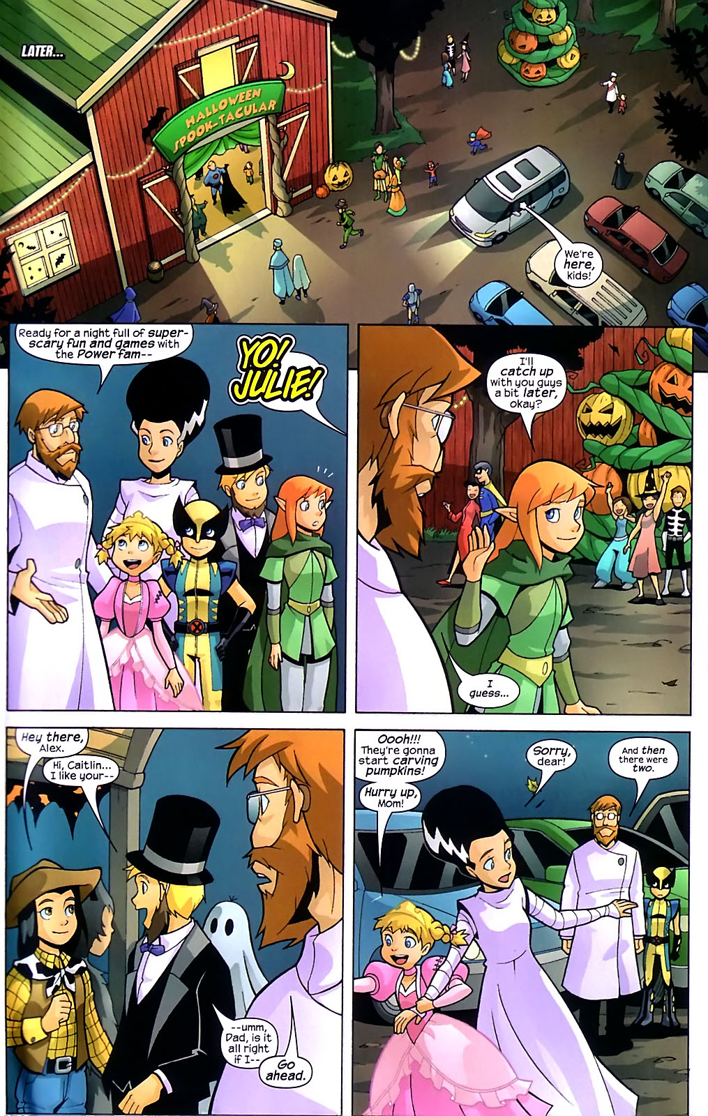 Read online X-Men and Power Pack comic -  Issue #1 - 6