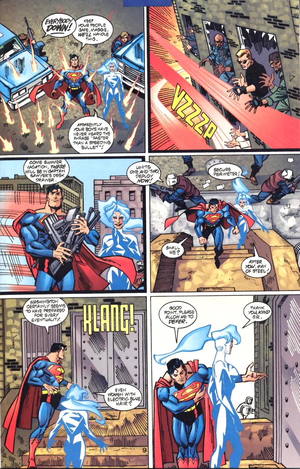 Read online Adventures of Superman (1987) comic -  Issue #572 - 10