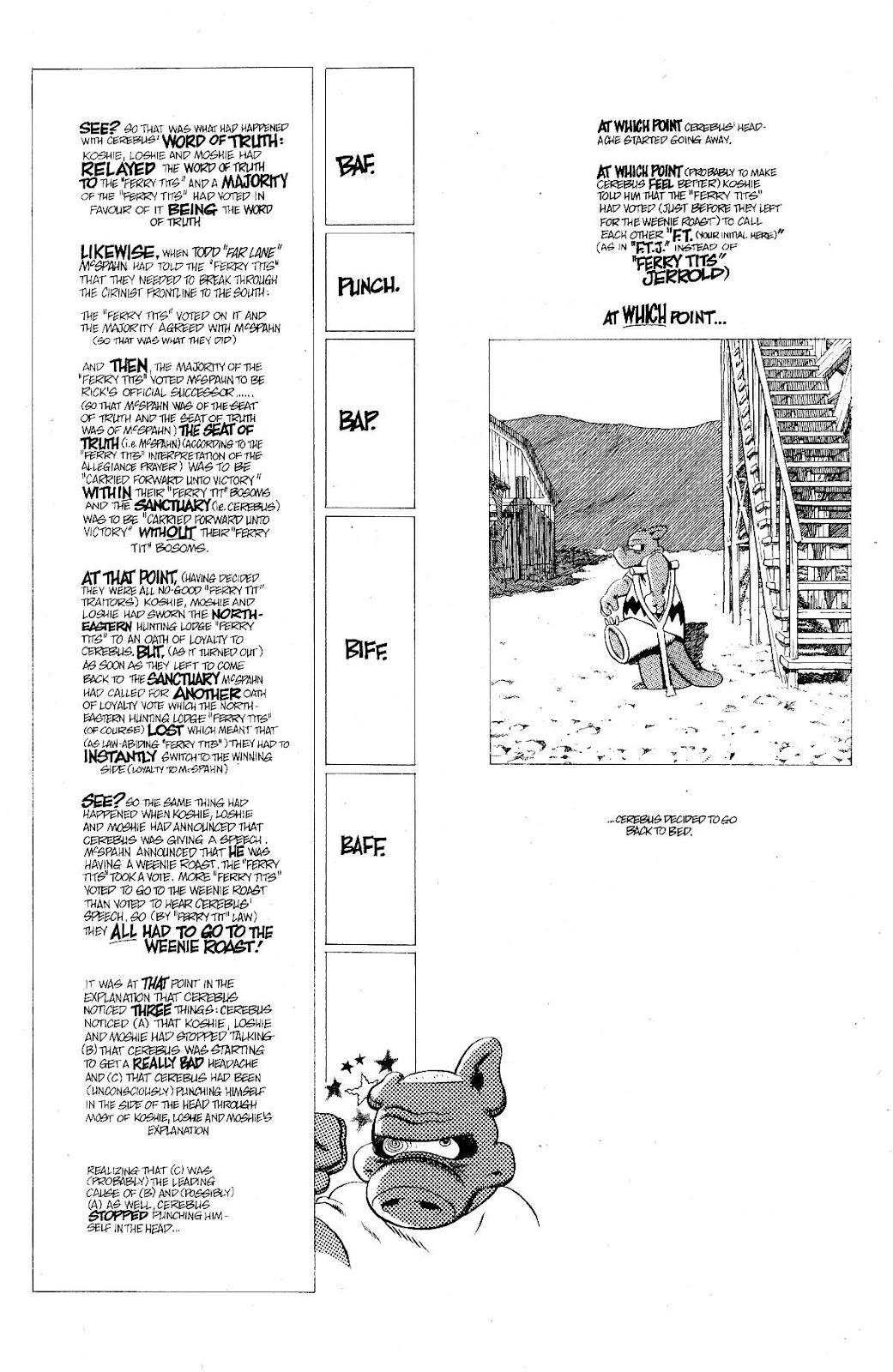Cerebus Issue #275 #274 - English 15