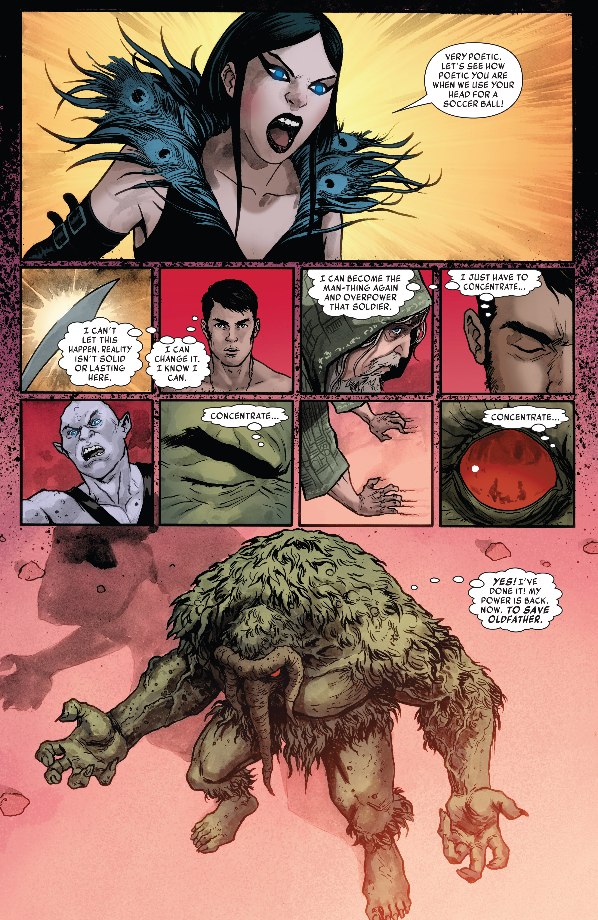 Read online Man-Thing (2017) comic -  Issue #4 - 5