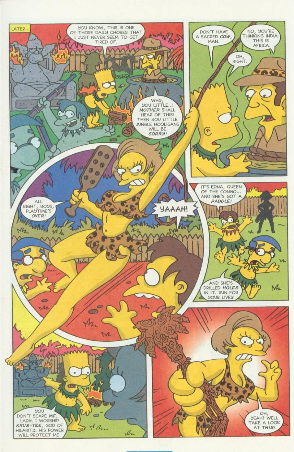 Read online Simpsons Comics comic -  Issue #8 - 29