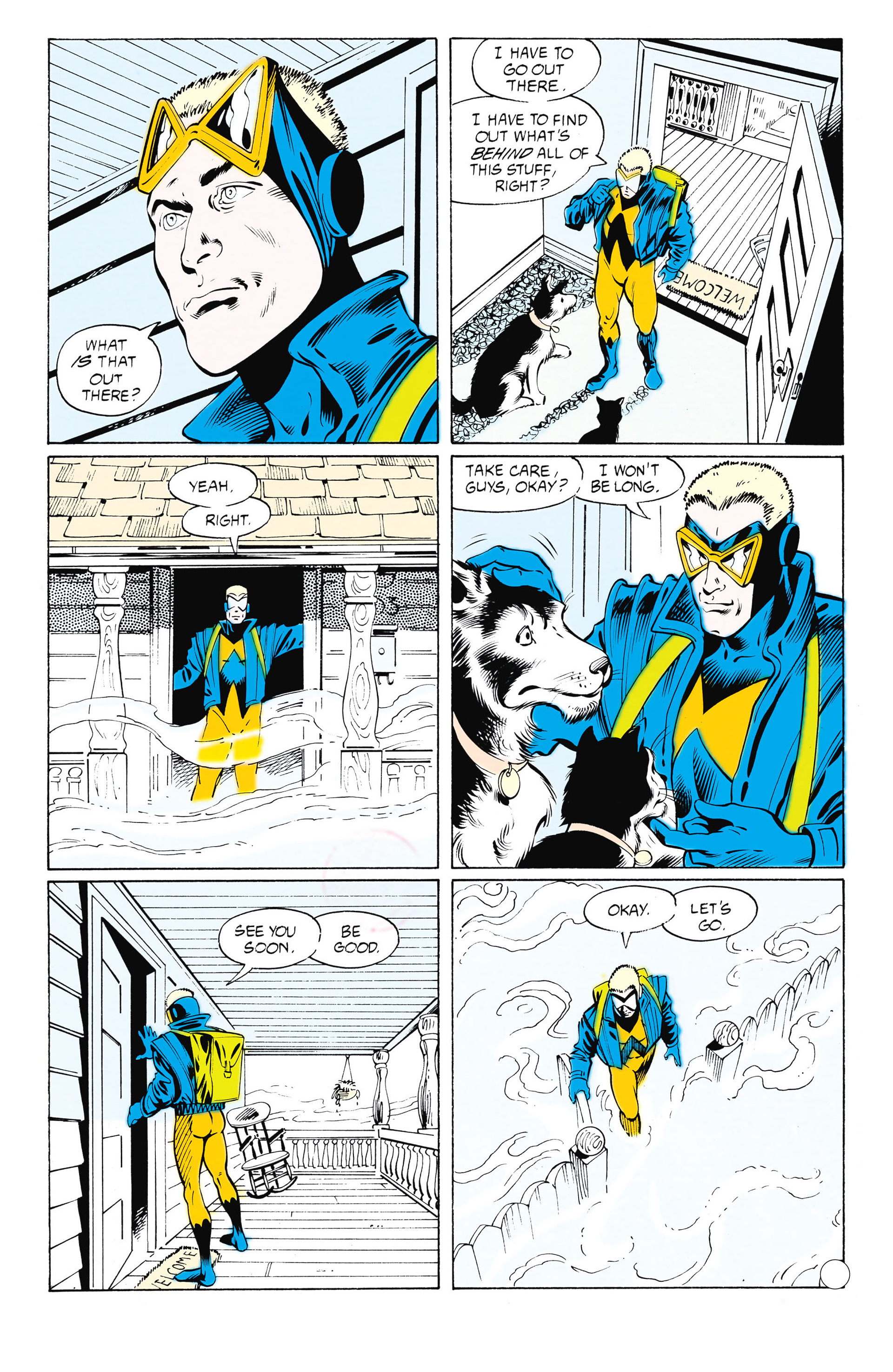 Read online Animal Man (1988) comic -  Issue #25 - 4