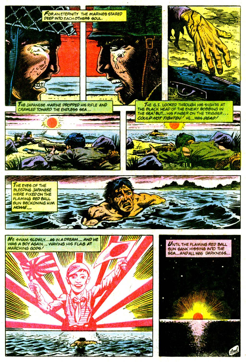 Read online Sgt. Rock comic -  Issue #375 - 31