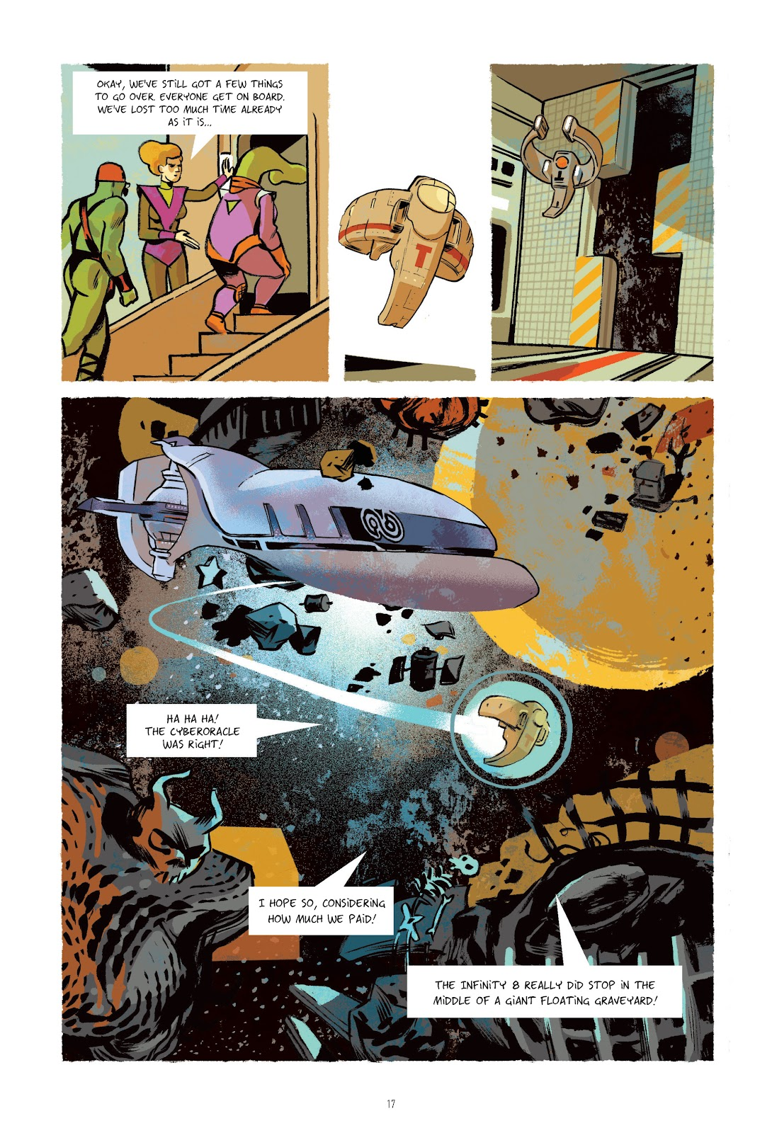 Read online Infinity 8 comic -  Issue # _TPB 3 - 18