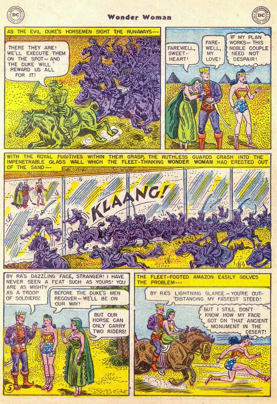 Read online Wonder Woman (1942) comic -  Issue #76 - 17