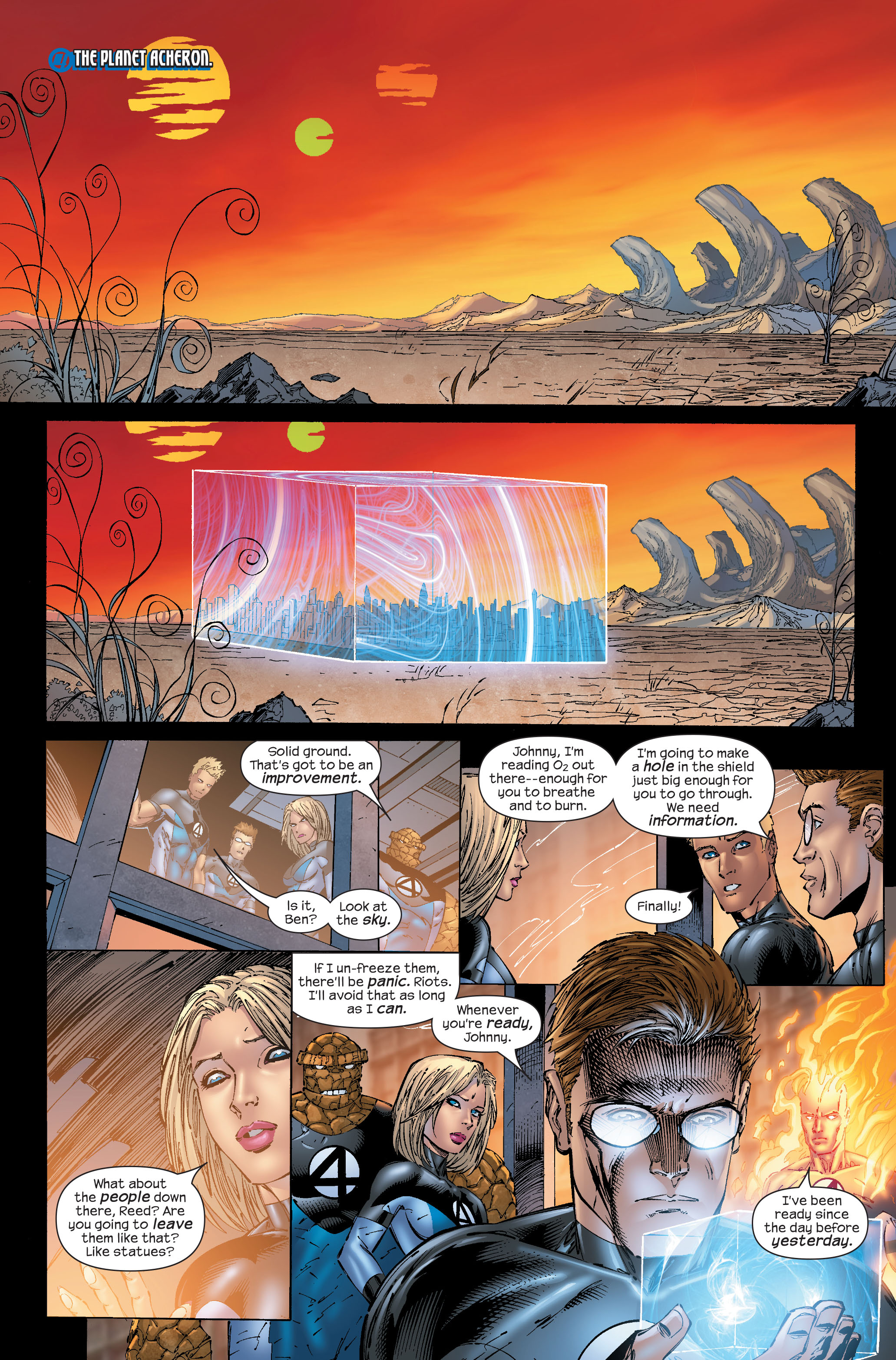 Read online Ultimate Fantastic Four (2004) comic -  Issue #51 - 7