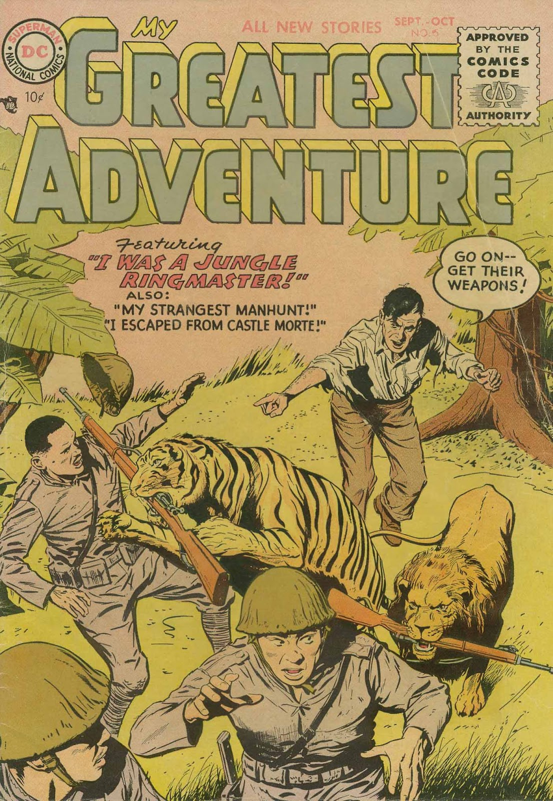 My Greatest Adventure (1955) issue 5 - Page 1