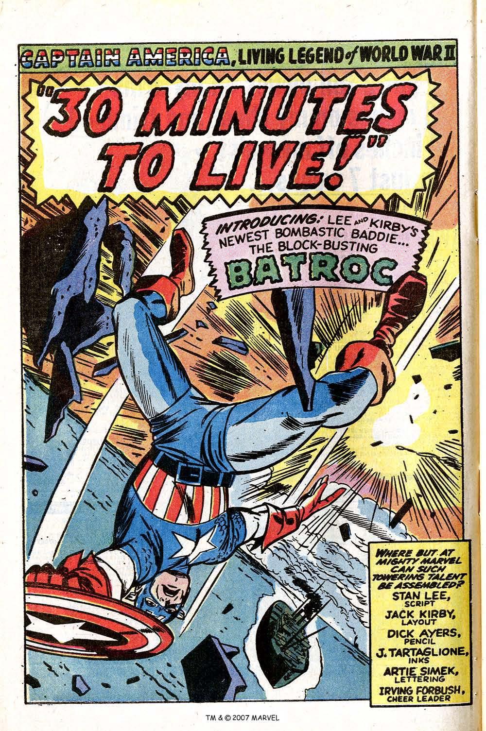 Read online Captain America (1968) comic -  Issue # _Annual 1 - 54