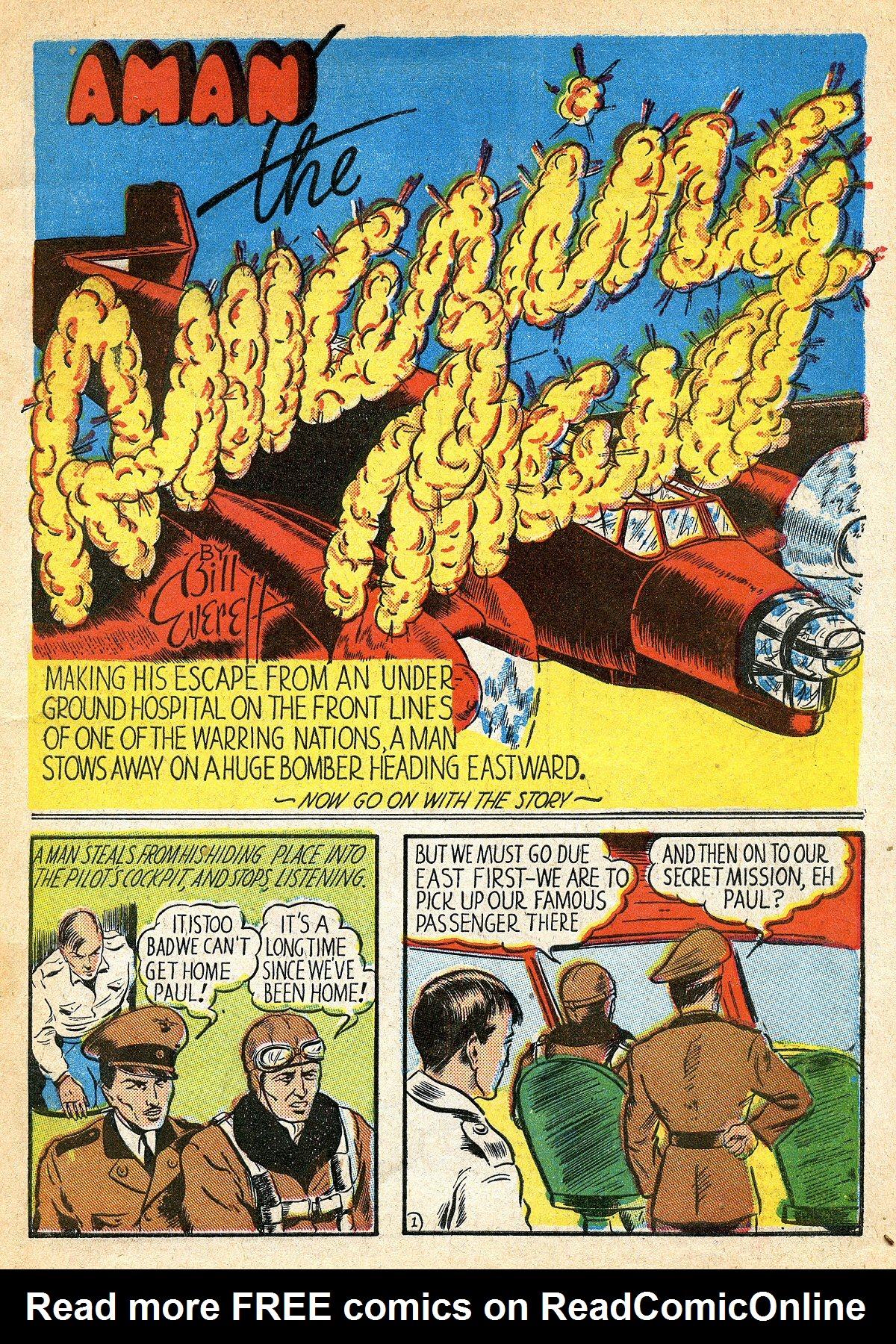 Read online Amazing Man Comics comic -  Issue #10 - 4