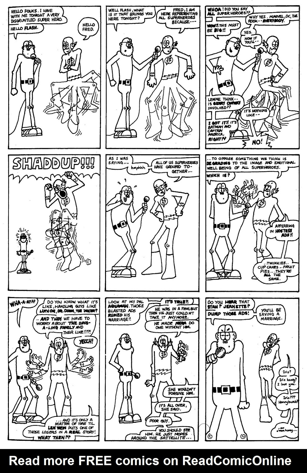 Read online The Nearly Complete Essential Hembeck Archives Omnibus comic -  Issue # TPB (Part 1) - 42