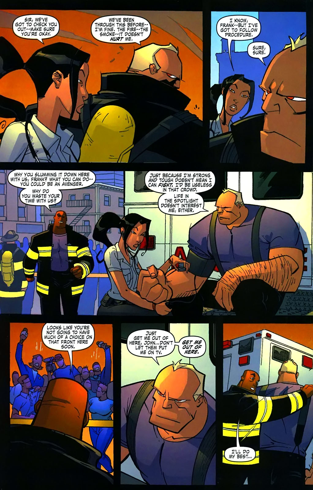 Read online Amazing Fantasy (2004) comic -  Issue #15 - 29