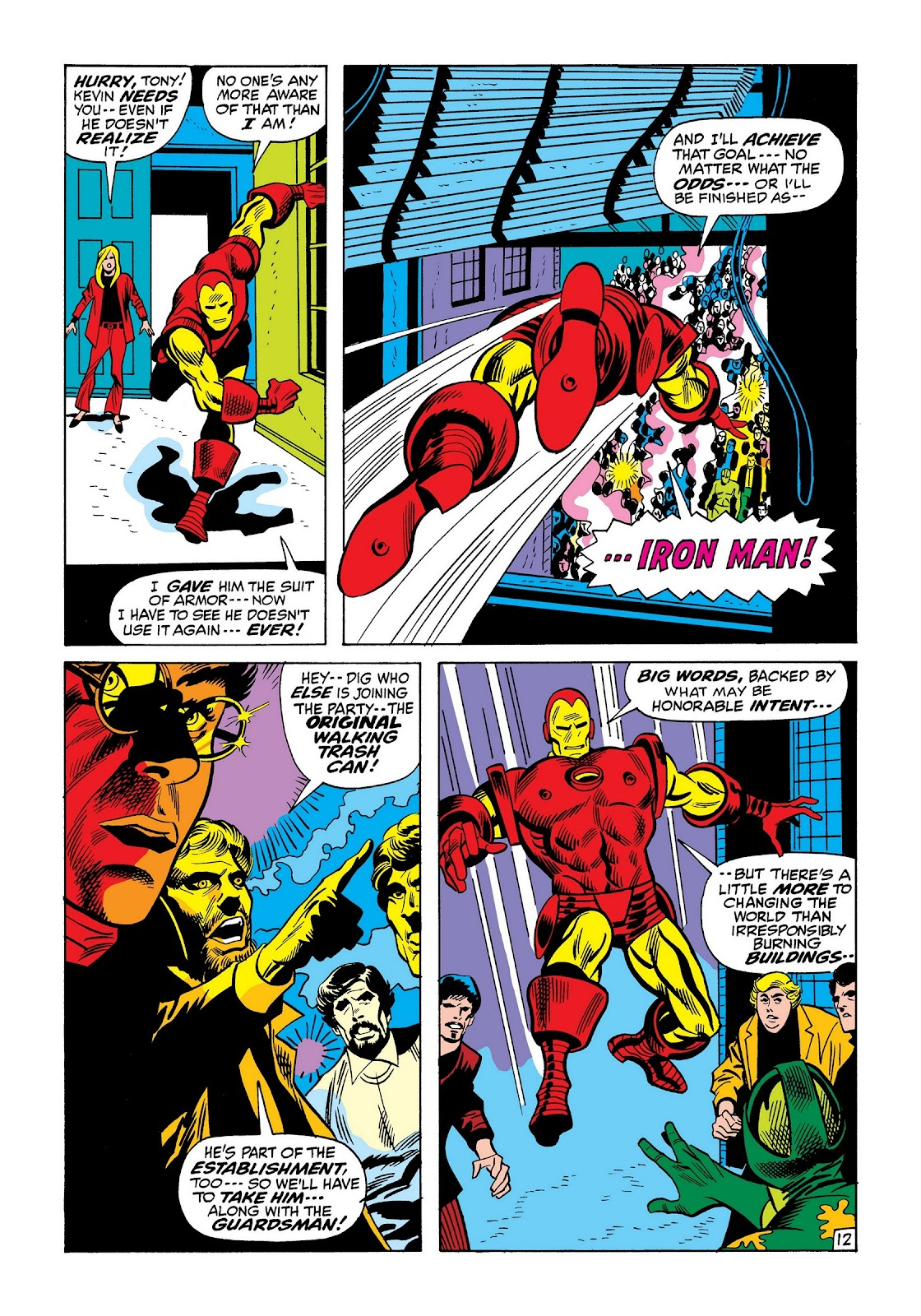 Read online Marvel Masterworks: The Invincible Iron Man comic -  Issue # TPB 8 (Part 2) - 56
