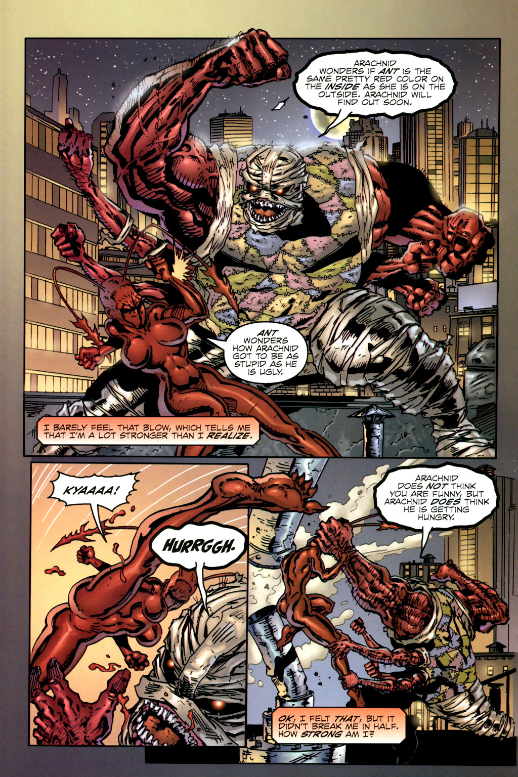 Read online Ant comic -  Issue #2 - 5