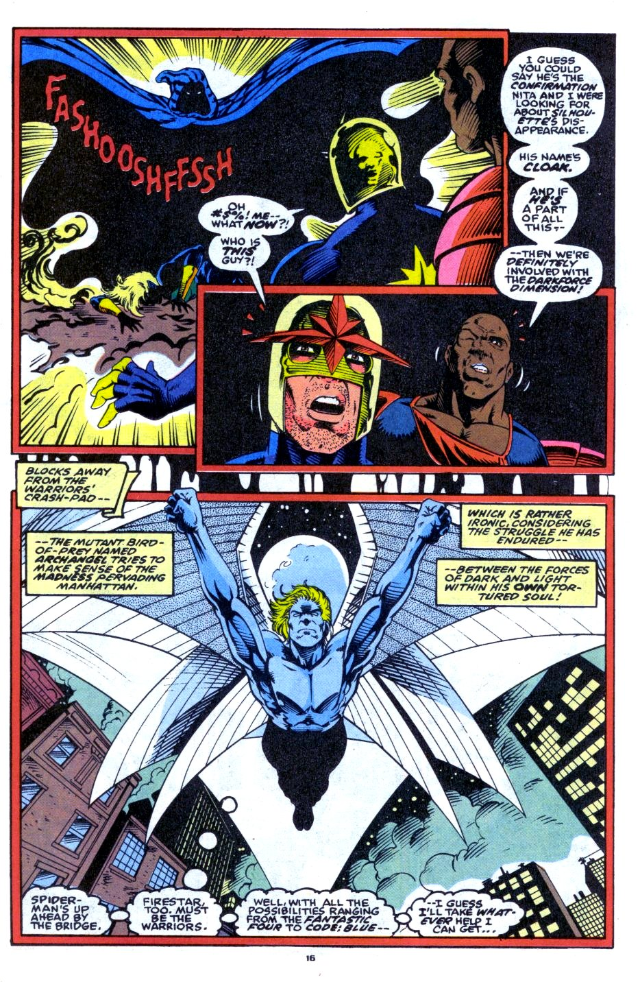 The New Warriors Issue #33 #37 - English 13
