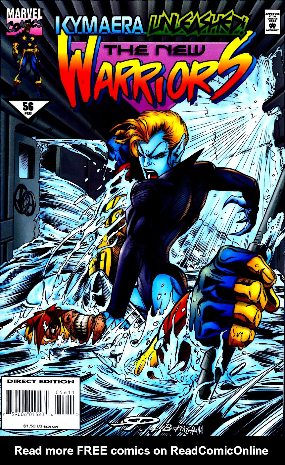 The New Warriors Issue #56 #60 - English 1