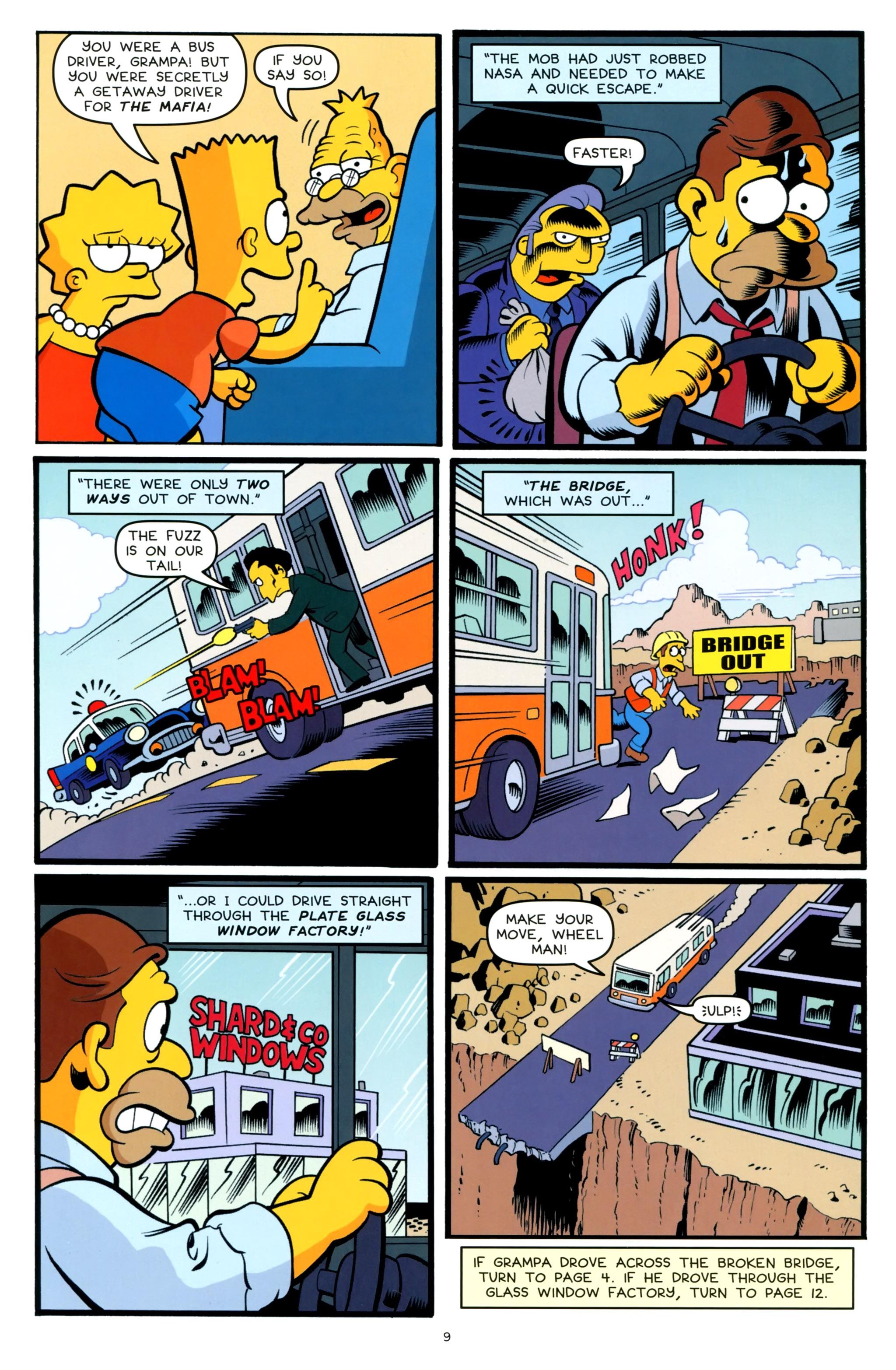 Read online Simpsons One-Shot Wonders: Grampa comic -  Issue # Full - 11