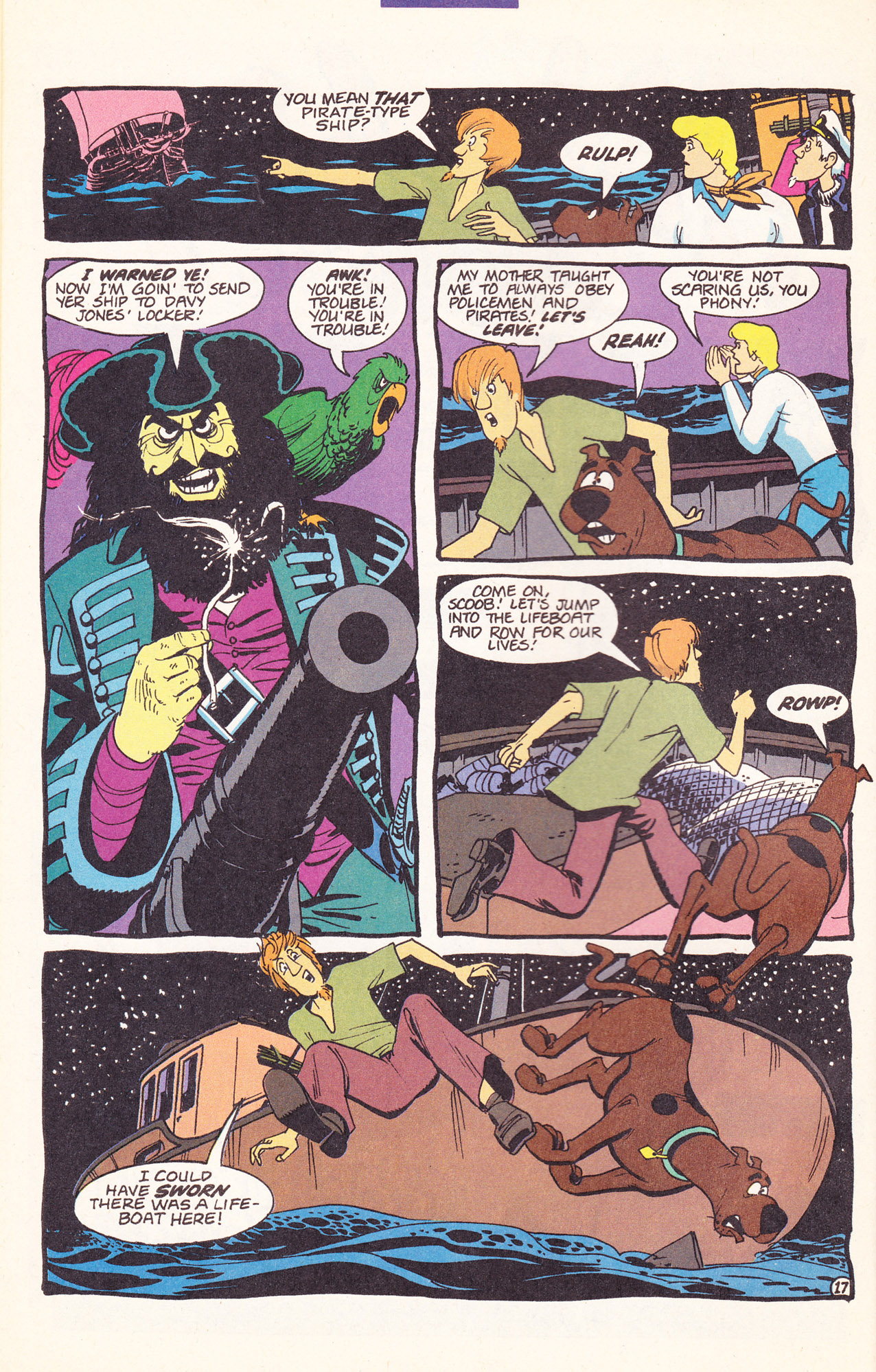 Read online Scooby-Doo (1995) comic -  Issue #17 - 28
