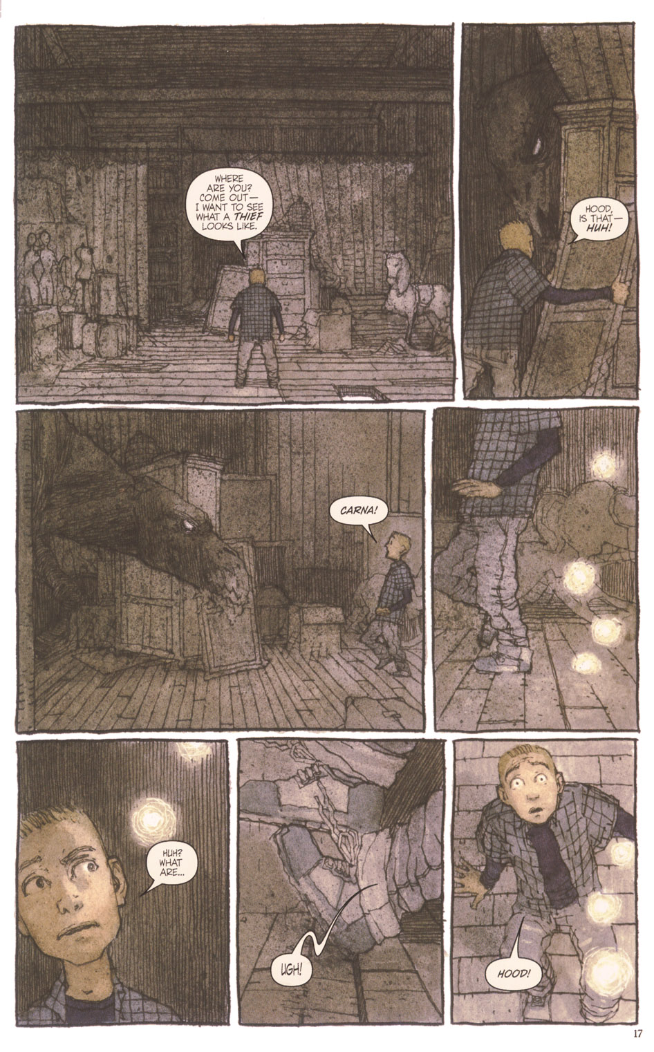 Read online Clive Barker's The Thief Of Always comic -  Issue #3 - 18