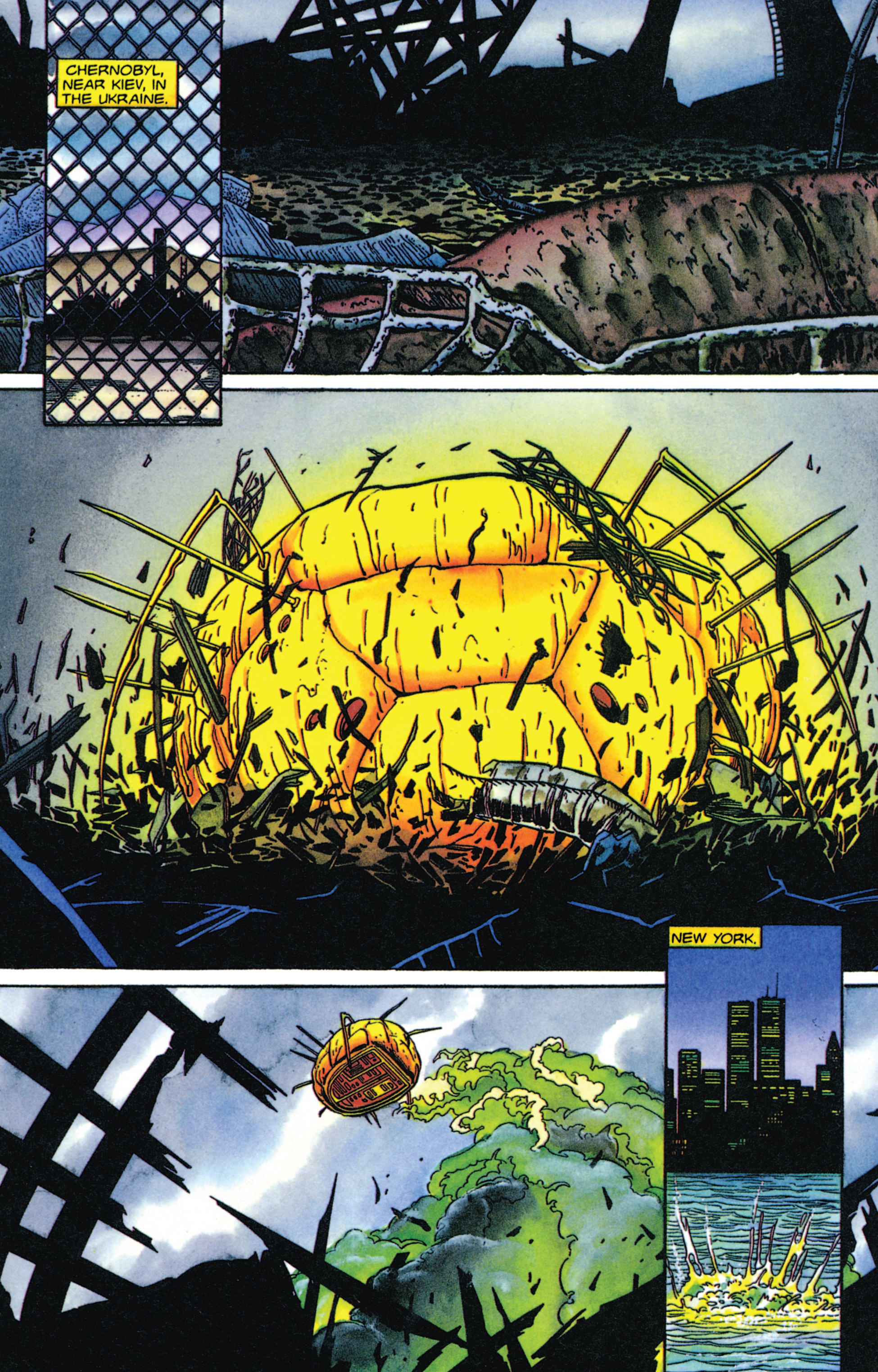 Read online Armorines comic -  Issue #4 - 8