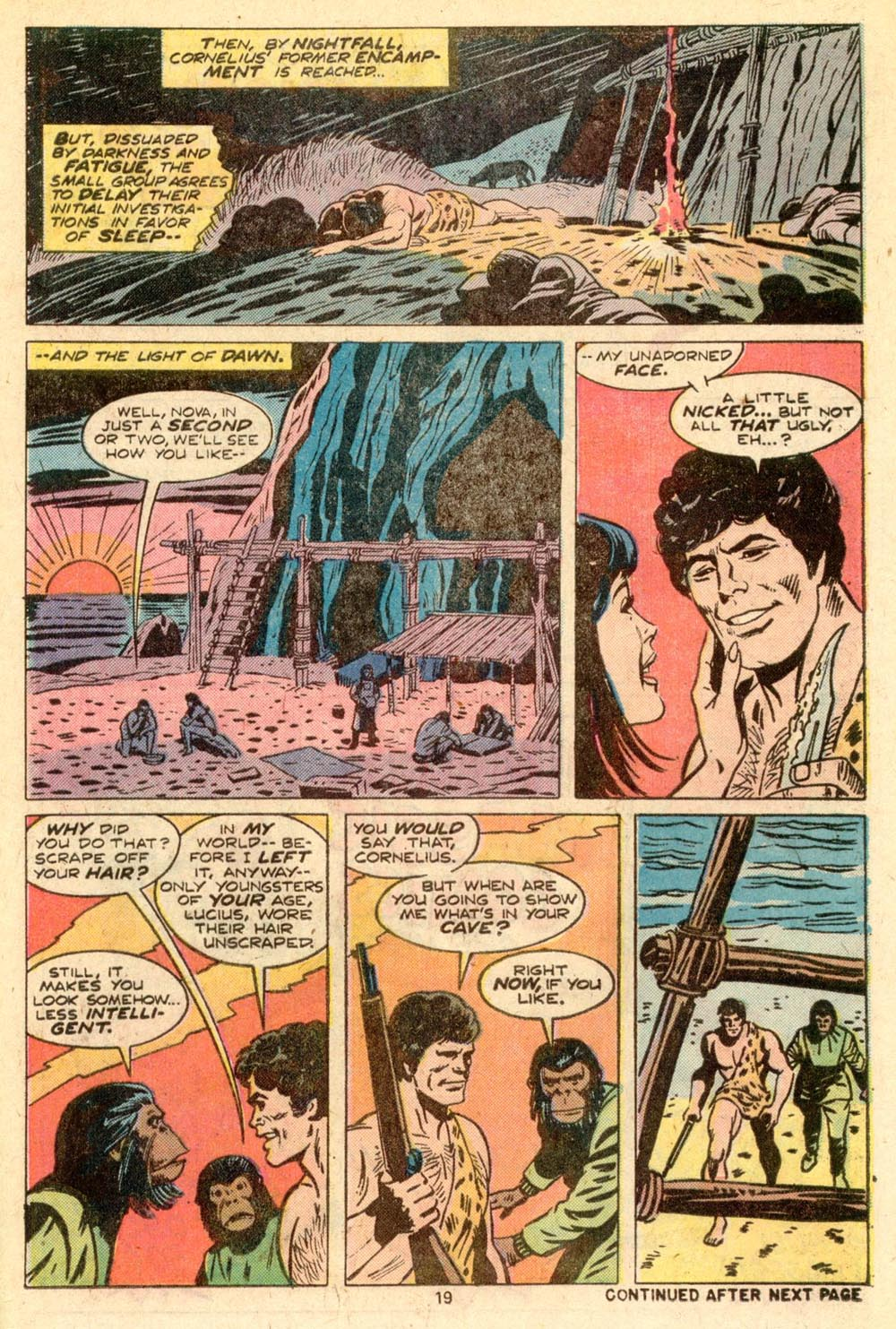 Read online Adventures on the Planet of the Apes comic -  Issue #5 - 14