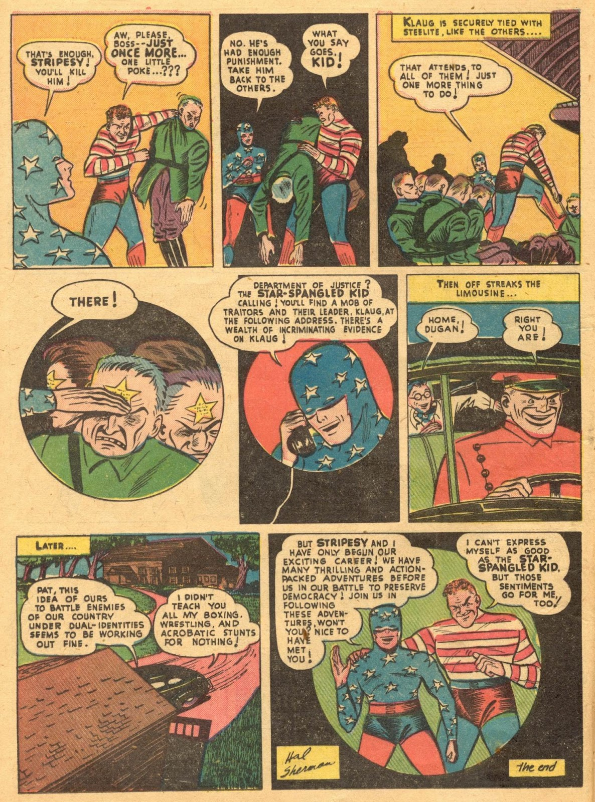 Star Spangled Comics (1941) issue 1 - Page 22