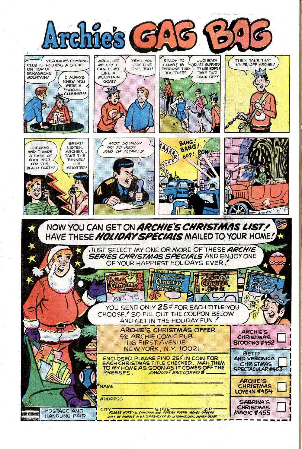 Read online Archie (1960) comic -  Issue #258 - 10