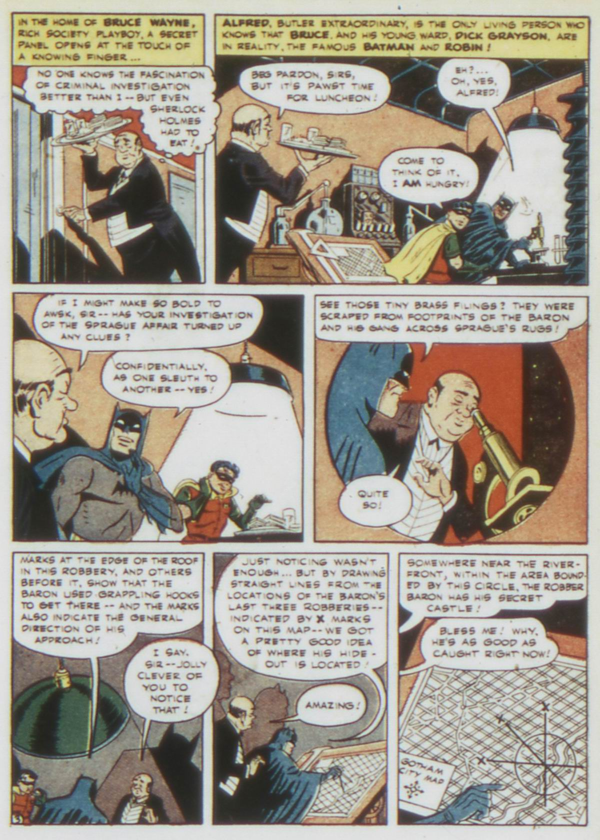 Read online Detective Comics (1937) comic -  Issue #75 - 5